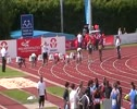 U17 Men 100m Semi Final 2 FS