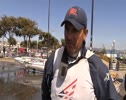 Zach Railey on the medal race for news broadcast made by X-Trame Studio