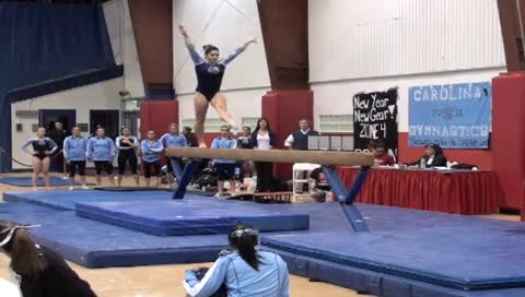 UNC GYMNASTICS TEAM HIGHLIGHTS 1.22.11