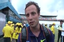 Oscar Pistorius after 400 at 2010 London Diamond League