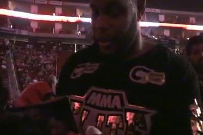 Cormier quick post fight interview
