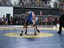 132 lbs round1 Mark Grey BL (G) vs. Thomas Whitaker PV (R)