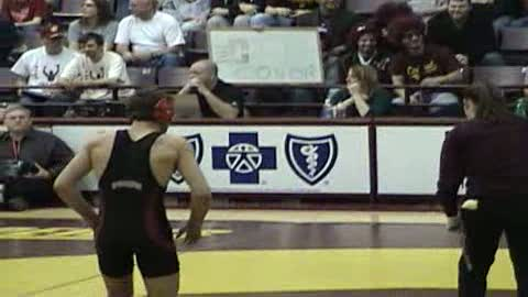 141  Conor Beebe-Central Michigan vs. Pat McLemore-Northern Illinois