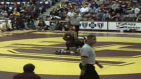 285 LB Jarod Trice-Central Michigan vs. Brendan Barlow-Kent State MAC FINALS