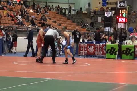 110 lbs finals Ryan Karoly NJ vs. Nicholas Maiden CA