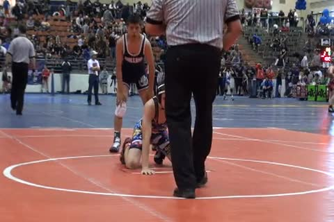 120 lbs consolation Enrique CA vs. Nodotti FL
