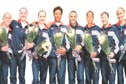 2000 Olympians After the Medal Ceremony