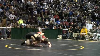 157lbs Matt Ballweg Iowa- vs. Kyle John Maryland-