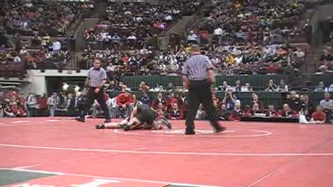 160lbs Nick Sulzer St Edward-OH vs. Josh Linden Brecksville-OH