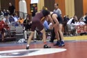 165 lbs round1 Mike Miller Central Michigan vs. Bobby Barnhisel Navy