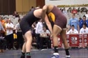 285 lbs round1 Jarod Trice Central Michigan vs. Christian McClean NC State