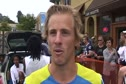 Brett Gotcher after 2010 Wharf to Wharf race